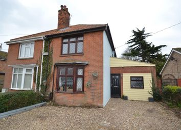 Thumbnail 4 bed semi-detached house for sale in Heath Road, Bradfield, Manningtree