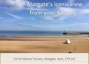 Thumbnail 4 bedroom flat for sale in Marine Terrace, Margate