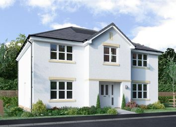 "Thumbnail 5 bed detached house for sale in ""Hopkirk"" at Blantyre Mill Road, Bothwell, Glasgow"