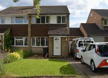 Thumbnail 3 bed semi-detached house to rent in West Leys Court, Moulton, Northampton