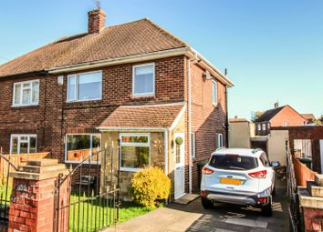 Thumbnail 2 bed semi-detached house for sale in Deneside, Seghill, Cramlington, Northumberland