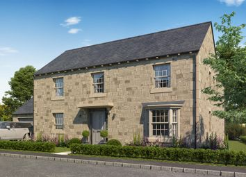 Thumbnail 4 bed detached house for sale in West House Gardens, Birstwith, Harrogate