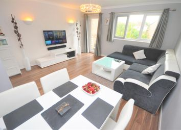 Thumbnail 2 bed flat for sale in Reynolds Close, Colliers Wood, London