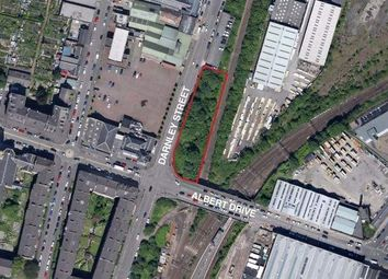 Thumbnail Land for sale in Darnley Street / Albert Drive, Glasgow