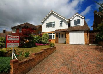 Thumbnail 3 bed detached house for sale in Ledsham Avenue, St Leonards-On-Sea, East Sussex