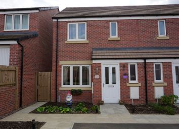 Thumbnail 3 bed semi-detached house for sale in Fellows Close, Weldon Park, Corby