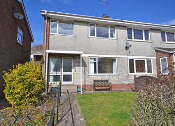 Thumbnail 3 bed semi-detached house to rent in Forest Close, Newport