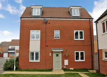 Thumbnail 4 bedroom end terrace house for sale in Bluebell Gardens, Broughton, Milton Keynes, Buckinghamshire