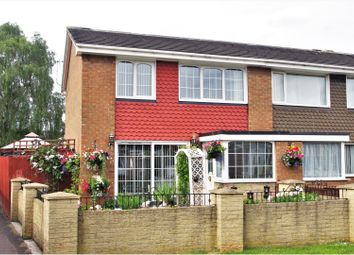 Thumbnail 3 bed end terrace house for sale in Bullamoor Close, Northallerton