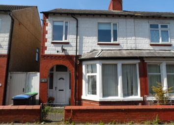 Thumbnail 3 bed semi-detached house to rent in North Avenue, Blackpool