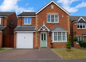 Thumbnail 4 bed detached house for sale in Foster Drive, Gateshead