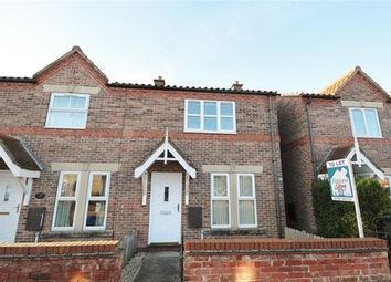Thumbnail 3 bed property to rent in Kelfield Road, Riccall, York