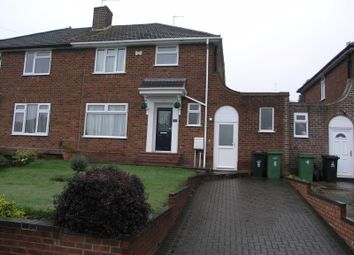 Thumbnail 3 bed semi-detached house for sale in Hedgefield Grove, Halesowen