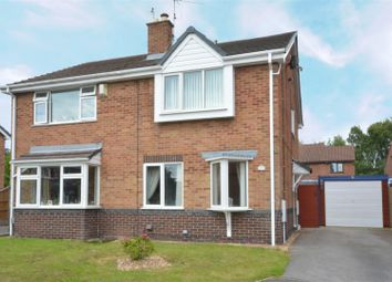 Thumbnail 2 bed semi-detached house for sale in Darricott Close, Rainworth, Mansfield