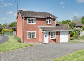 Thumbnail 4 bed detached house for sale in Cranham Close, Walkwood, Redditch