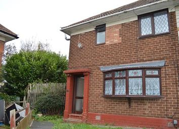 Thumbnail 3 bedroom end terrace house to rent in Lathom Grove, Stechford, Birmingham