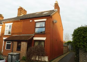 Thumbnail 3 bed terraced house for sale in Shipstone Road, Norwich, Norfolk