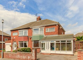 Thumbnail 4 bedroom semi-detached house for sale in Cortina Avenue, Sunderland, Tyne And Wear