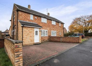 Thumbnail 3 bed semi-detached house for sale in Wodecroft Road, Luton, Bedfordshire, Icknield