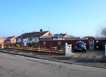 Thumbnail 3 bed bungalow for sale in Robin Kerkham Way, Clenchwarton, King's Lynn