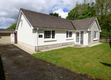 Thumbnail 3 bed detached bungalow for sale in Burton Road, Houghton, Milford Haven