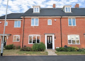 Thumbnail 3 bed terraced house for sale in Hornbeam Road, North Walsham