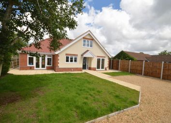 Thumbnail 4 bedroom detached house for sale in Blofield Corner Road, Little Plumstead, Norwich
