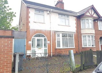Thumbnail 3 bed semi-detached house for sale in Bradbourne Road, Leicester