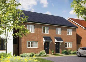 "Thumbnail 3 bedroom semi-detached house for sale in ""The Rowan"" at London Road, Norman Cross, Peterborough"