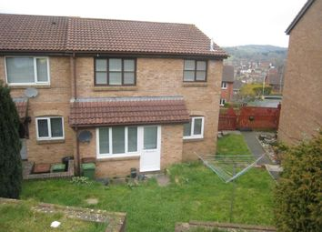 Thumbnail 1 bed end terrace house to rent in Liddle Way, Plympton, Plymouth