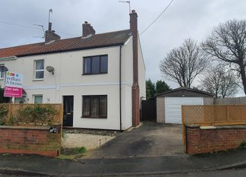 Thumbnail 2 bed end terrace house for sale in Margrave Lane, Garthorpe, Scunthorpe