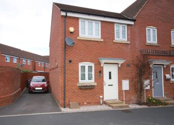 Thumbnail 2 bed semi-detached house for sale in Wharfside Close, Hempsted, Gloucester