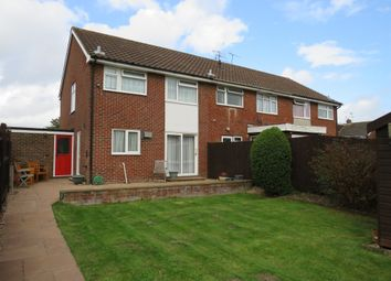 Thumbnail 3 bed end terrace house for sale in Rogate Close, Sompting, Lancing