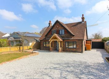 Canterbury Road, Densole, Folkestone CT18. 4 bed detached house for sale