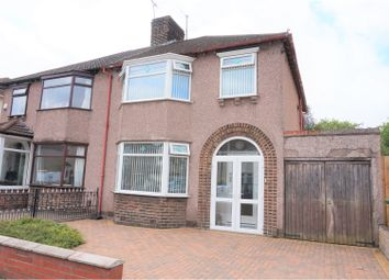 Thumbnail 3 bedroom semi-detached house for sale in Stairhaven Road, Liverpool