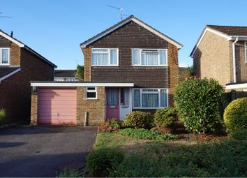 Thumbnail 3 bed detached house for sale in Bramling Avenue, Yateley