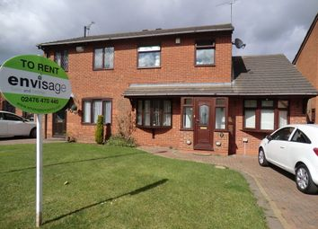 Thumbnail 4 bedroom semi-detached house to rent in Glenriddings Close, Longford, Coventry