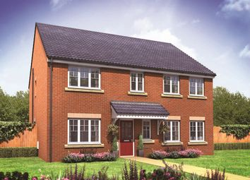 "Thumbnail 5 bed detached house for sale in ""The Holborn"" at Northborough Way, Boulton Moor, Derby"