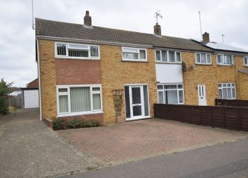 Thumbnail 3 bed end terrace house for sale in Dorchester Avenue, Bletchley, Milton Keynes