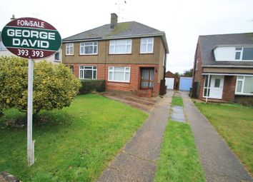 Thumbnail 3 bed semi-detached house for sale in Cowley Close, Bierton, Aylesbury