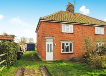 Thumbnail 3 bed semi-detached house for sale in New Road, Sutton, Norwich