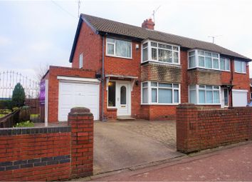Thumbnail 3 bed semi-detached house for sale in High Heworth Lane, Gateshead
