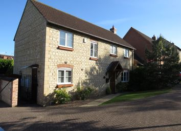 Thumbnail 4 bed detached house for sale in Merrick Close, Great Gonerby, Grantham