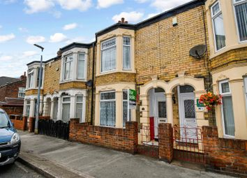 Thumbnail 3 bed terraced house for sale in Swinburne Street, Hull
