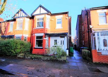 Thumbnail 3 bed semi-detached house for sale in Grangethorpe Drive, Burnage, Manchester