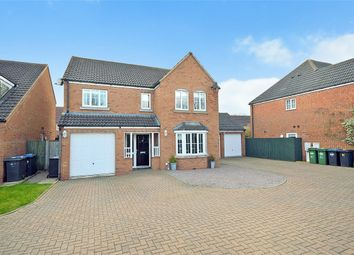 Thumbnail 4 bed detached house for sale in Durrell Drive, Cawston, Rugby, Warwickshire