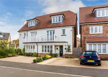 Thumbnail 4 bed semi-detached house for sale in Woodview Way, Caterham, Surrey