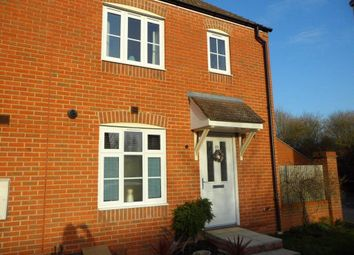 Thumbnail 3 bed end terrace house to rent in Kirby Drive, Bramley, Tadley, Hampshire