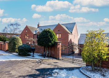 Thumbnail 4 bed detached house for sale in Woodlands Close, Hopwas, Tamworth