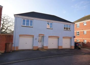 Thumbnail 2 bed detached house to rent in Raleigh Drive, Cullompton, Devon